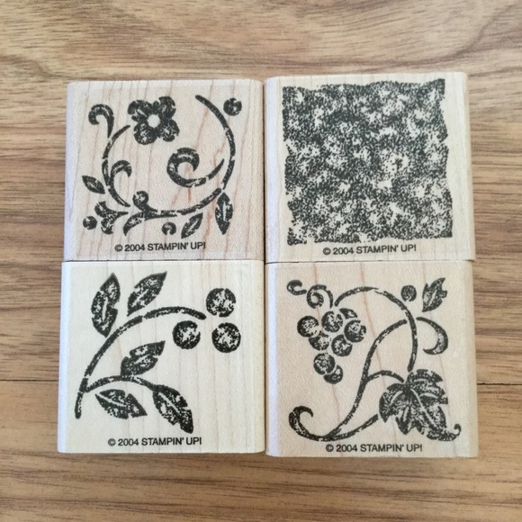 Stampin' Up! Two-Step Stampin' Stippled Stencils